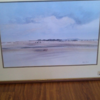 Beautiful original oil paintig by renouned artist Richard Rennie for sale