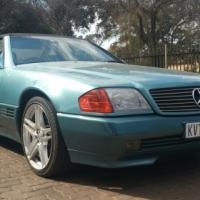 Mercedes-Benz 500SL Series 129 Year 1991