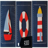 Nautical themed bedroom decor for sale