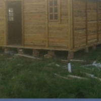 6 m x 6 m Log Houses, wendys, etc