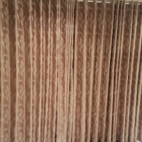URGENT!!! - 2 WOODEN BLINDS AND 4 CURTAINS FOR SALE AT AN EXCELLENT GIVE AWAY PRICE