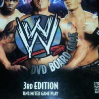 WWE (Wrestling) DVD Board Game