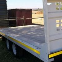 Farm Trailer with aluminium deck