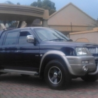 2007 Mitsubishi Colt Rodeo Double Cab with Canopy Pristine Condition