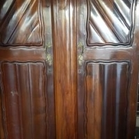 Antique Ball and Claw Cupboards