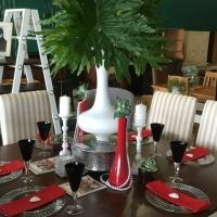 1500 x 1500 Pine Dinning Table - Van Ouds