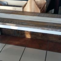 Custom Pine Bench - Transkei