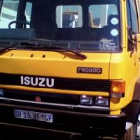 Isuzu F8000D Crane truck