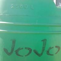 Jojo water tenk 2500l