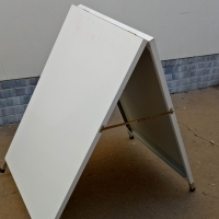 STAND PAVEMENT DISPLAY A-FRAME