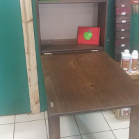 Pine Murphy Desk - Protea Brown