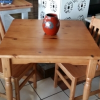 900 X Pine Dining Table 4 Seater