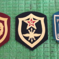 Russian Soviet CCCP Military shoulder patches.
