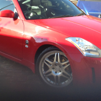 NISSAN 350Z Fair Lady (Red) for sale or to swop for CNC Lathe