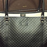 Gucci authentic leather bags for sale