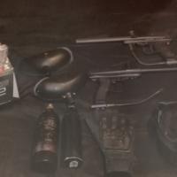 Paintball guns and kit