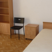 AUCKLAND PARK STUDENT ACCOMMODATION  (Bed, desk, chair, built in cupboards and bar fridge)