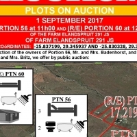 2 Plots on auction - 1 Sept. '17 at 11h00