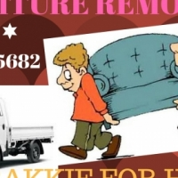 WE WILL BEAT ANY QUOTE! Furniture Removals - BAKKIE HIRE with Driver and Labor