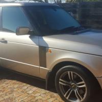 Land Rover / Range Rover 4.4L M62 Engine Automatic, 2003 Model, Lic, Gold colour, Towbar, Mag wheels
