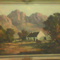 Don Madge painting