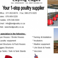 F AND J LAYING CAGES - YOUR 1 STOP POULTRY SUPPLIER
