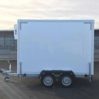 DOUBLE AXLE MOBILE REFRIGERATED  TRAILER FOR SALE