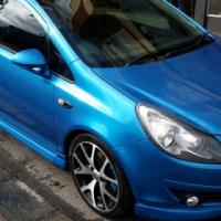 2008 Opel Corsa 1.6 OPC Blue 164877 km's