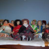 24 Porcelain Dolls of the World
