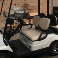 DRAKE ELECTRICAL GOLF CART 2 + 2 SEATER
