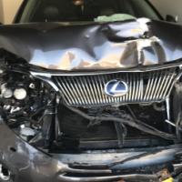 Accident damaged