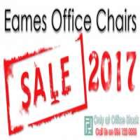 Black & White Classic Eames Chairs On SALE Now!!
