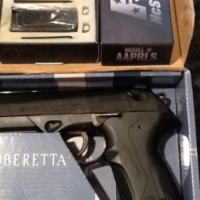 Beretta px4 Storm air pistol with laser sight