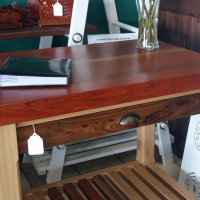Rosewood Butchers Block