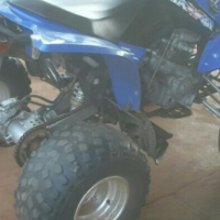 Kymco 4 wheeler 300cc  well looked after , to swop for 2x 50cc or R16 k