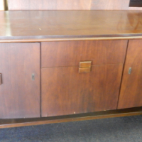 Wooden Two Door Sideboard