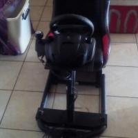 Logitec racing seat