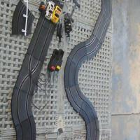 Scalextrics set Turbo Racer
