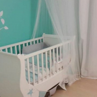Holly and Jack Sleigh Cot