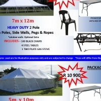 BRAND NEW TENTS FOR SALE HEAVY DUTY PLUS COMBOS