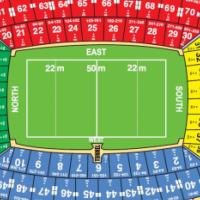 Rugby Lions vs Crusaders Ticket Prime Seat