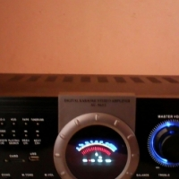 A 2000W roc-king digital karaoke amplifier.