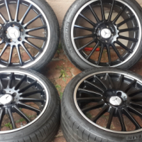 MERCEDES 19 INCH MAGS + TYRES
