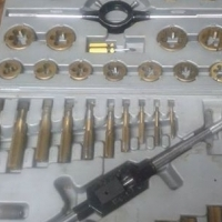 45 Piece Alloy Steel Tungsten coatd(metric)