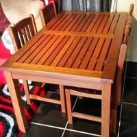 Diningroom Table 4 ChairsI Ads In Used Dining Room Furniture For Sale Port Elizabeth