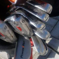 Powerbilt Golf clubs