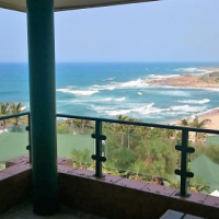 RAMSGATE – SUPERB SEA VIEW SIMPLEX ON THE BEACH – R1,6m