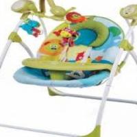 Bounce electronic baby swing