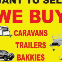 Cars, Bakkies, caravans, scooters, boats and trailers WANTED