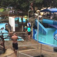 Holiday letting 6 people Inyoni Rocks Cabanas ,best holiday location Amanzimtoti.Lapas pool and braa